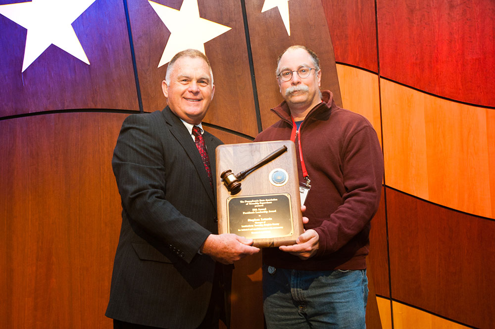 Steve Letavic, Londonderry Township Manager, Wins Association's Leadership Award